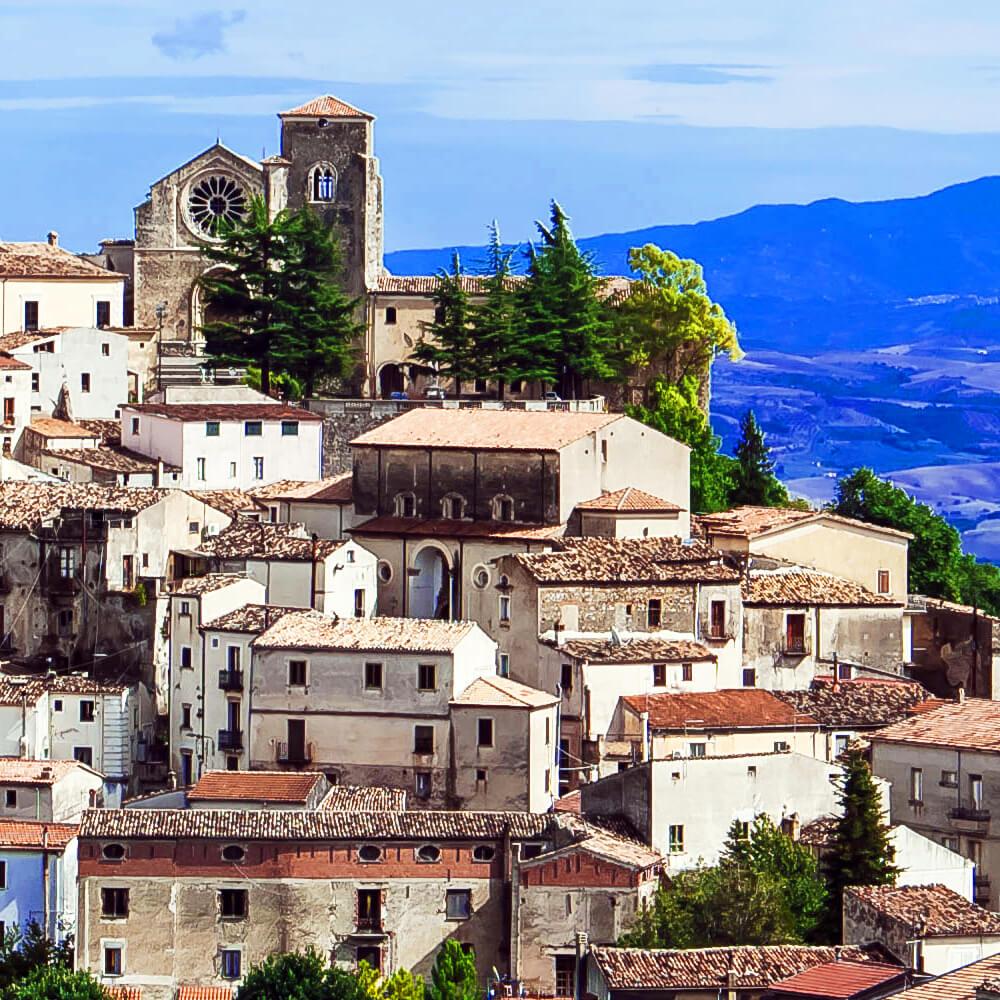 Farneto del Principe - panorama di Altomonte